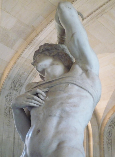 Michelangelo, Dying Slave looking up | by profzucker