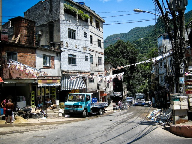 Favela Rio De Janeiro I Went To The Favelas In Rio De