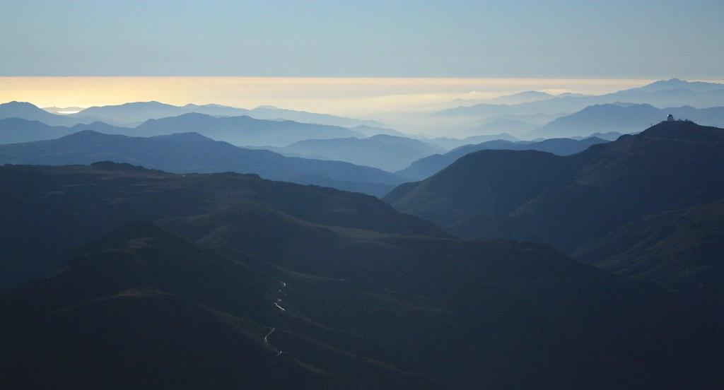 Sunset, Cerro Pachon, Cerro Tololo, Region de Coquimbo, Chile