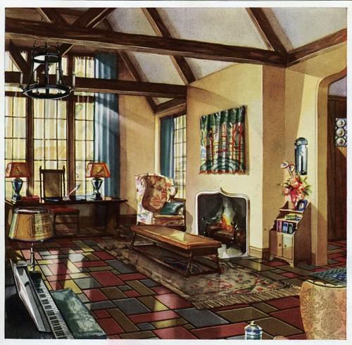 1930 Living room | Flickr - Photo Sharing!