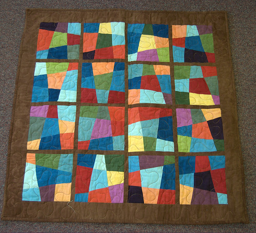Stained Glass Quilt | by Yarnie Spinner