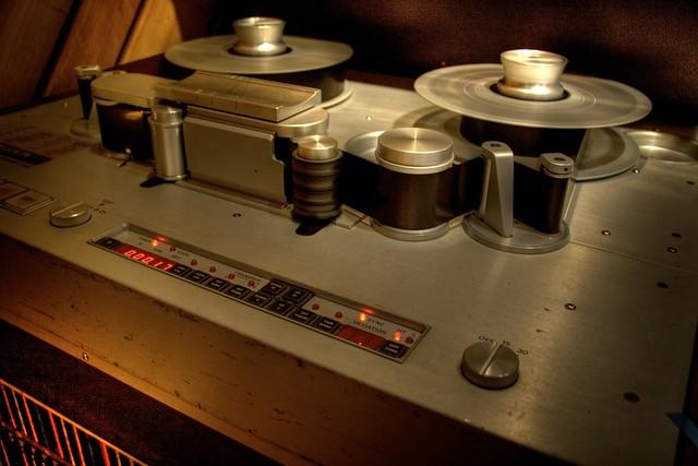 Studer tape machine