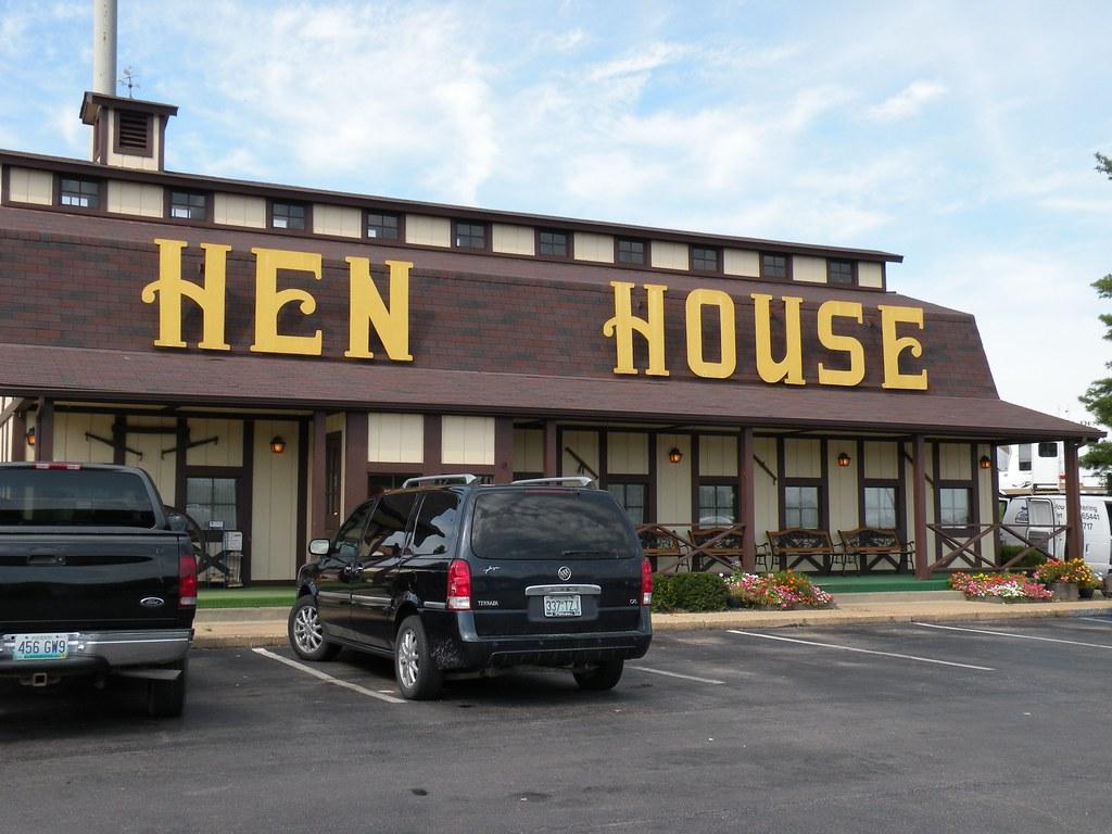 Hen House Restaurant Pontoon Beach Il Menu