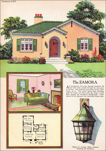 1927 American Builder Spanish Revival Flickr Photo