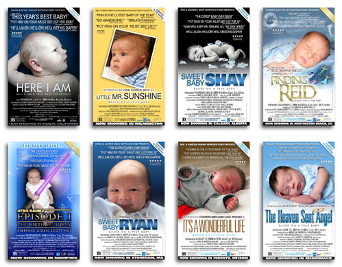 boy baby announcements 5 | www.5starbaby.com Movie Poster ...