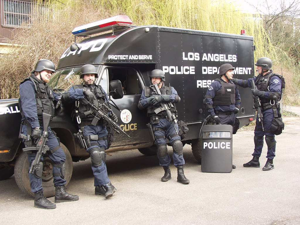 LAPD SWAT Re-enactment