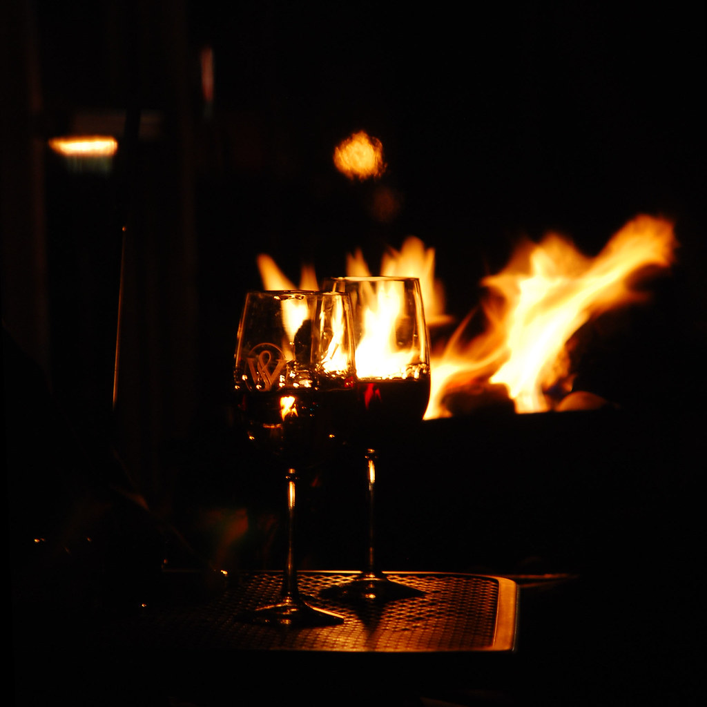 Fire and wine | Lisa Brewster | Flickr