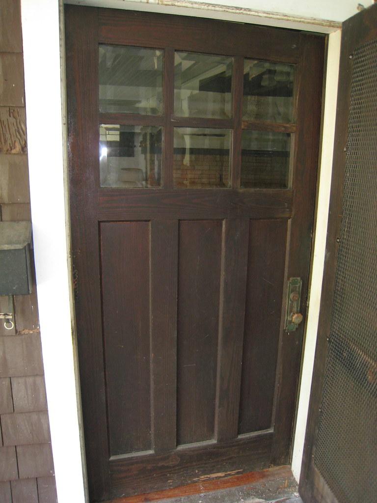 1918 Craftsman Bungalow Original Front Door My Friend