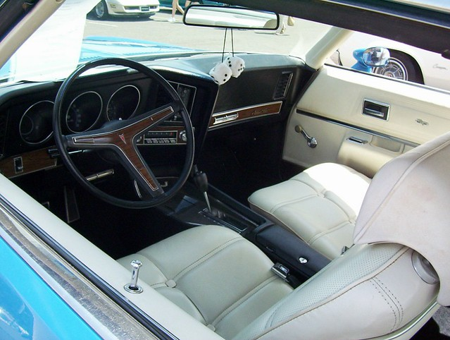 1972 Pontiac Grand Prix Interior Strato Bucket Seat