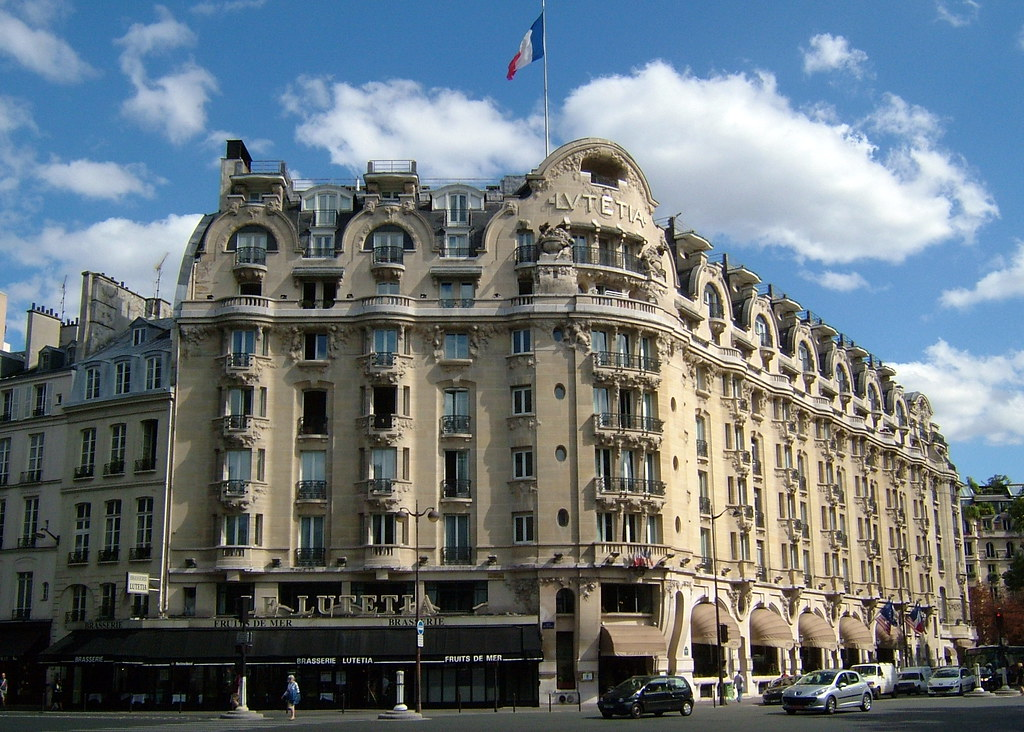 Lutetia art nouveau hotel in paris lutetia was the name flickr - Le lutetia paris restaurant ...