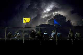 flags and lightning | by Michael Middleton