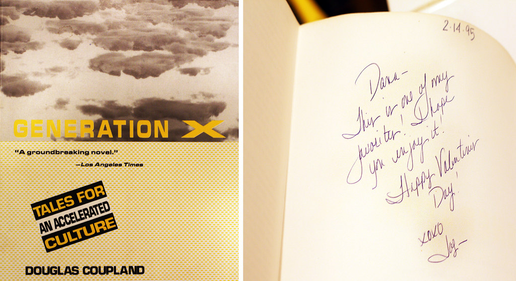 an analysis of the generation x novel by douglas coupland Generation x by douglas coupland - book cover, description, publication history.