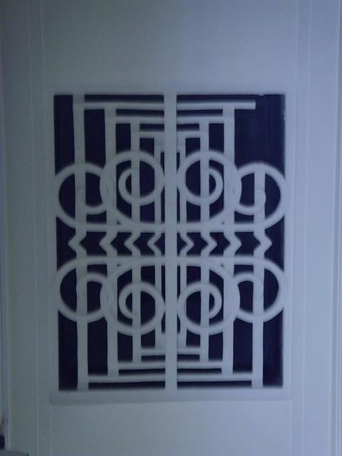 Havering town hall 1935 london art deco interior celing for Interior design challenge art deco