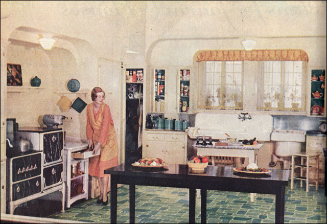 ... 1930 State Of The Art Kitchen | By American Vintage Home