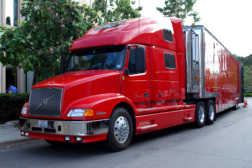 Ferrari 18-wheeler with an identity crisis | In this truck: … | Flickr