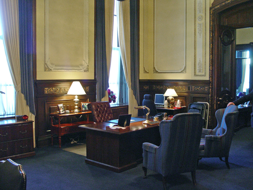 Office Of Illinois Governor Rod Blagojevich State Captiol Flickr