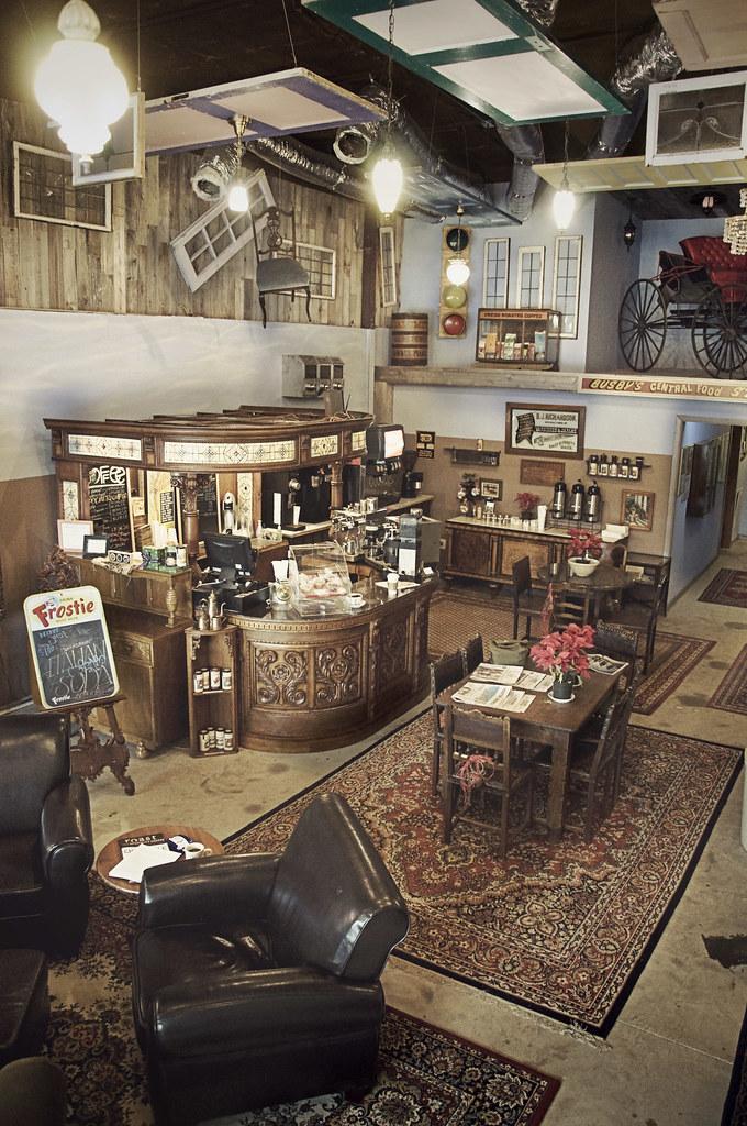 Dosey doe coffee shop conroe texas a local texas for Design interior cafe vintage