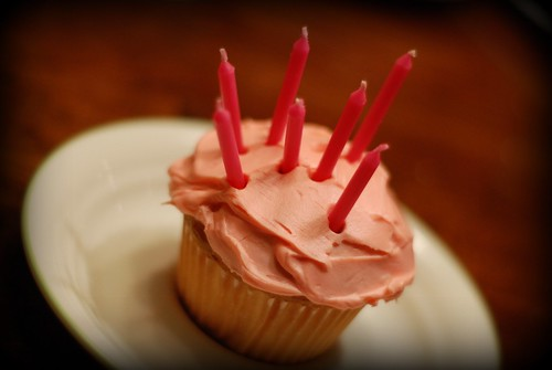 birthday cupcake | by I Should Be Folding Laundry