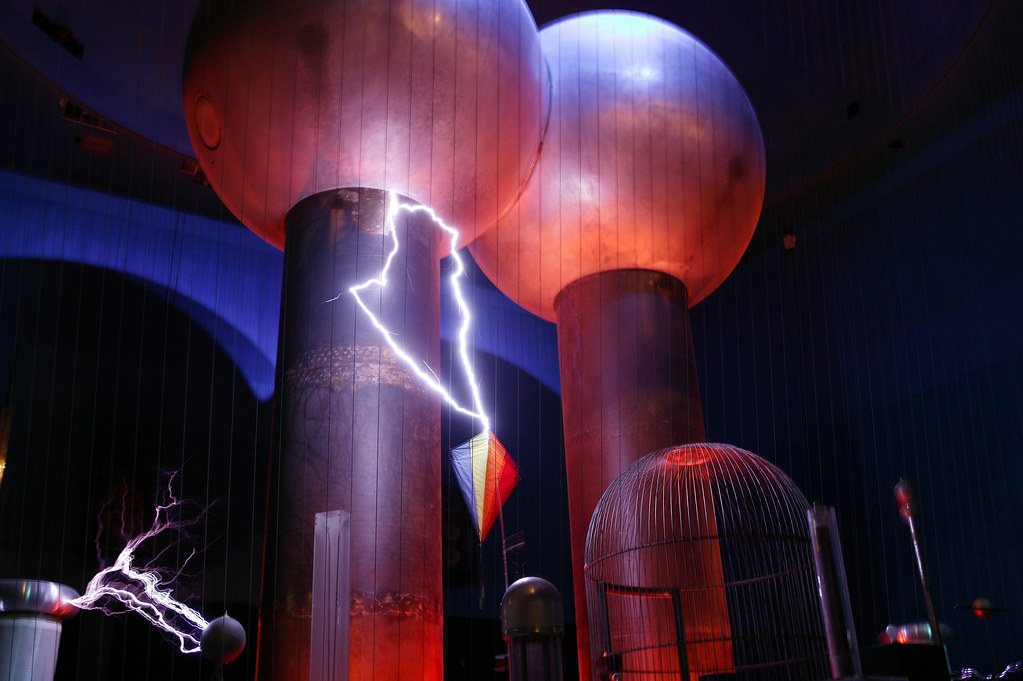 Theater of Electricity. Courtesy of Museum of Science, Boston.