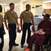 Marines visit with veterans during Marine Week St. Louis