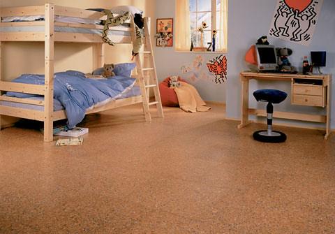 Bedroom with cork flooring corkfloorstore flickr for Cork flooring in bedroom