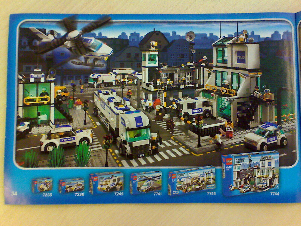 Lego city police ryan cullen flickr - Lego city police camion ...