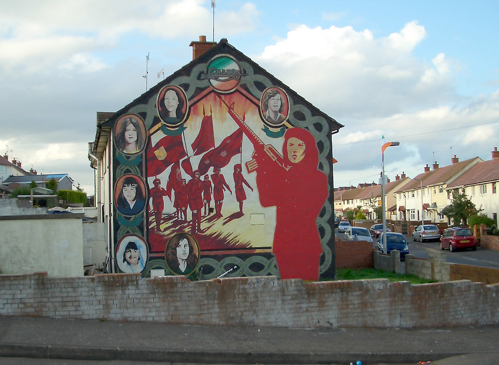 Mural ira women in belfast wandbild wandbild in for Mural belfast