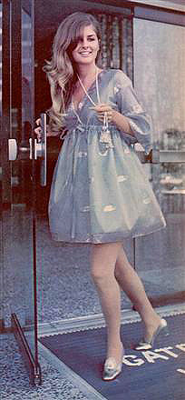 Christina Ferrare This Sweet Little Dress Was From 1968