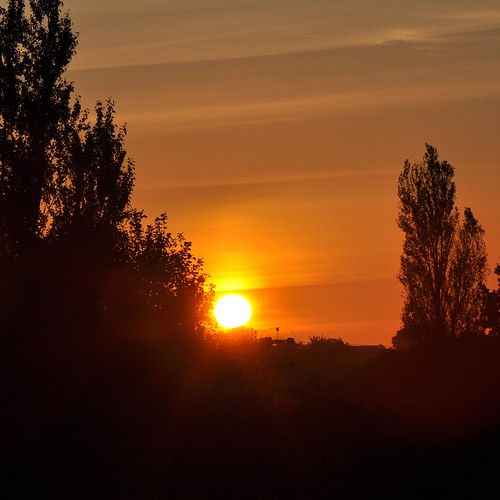 Sun rise over Haughley Suffolk | by Martin Pettitt