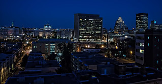 Montreal skyline | by dicktay2000