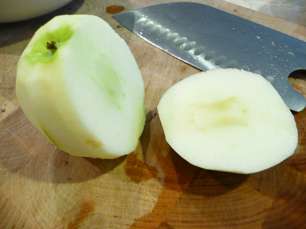Slicing Apples In Food Processor