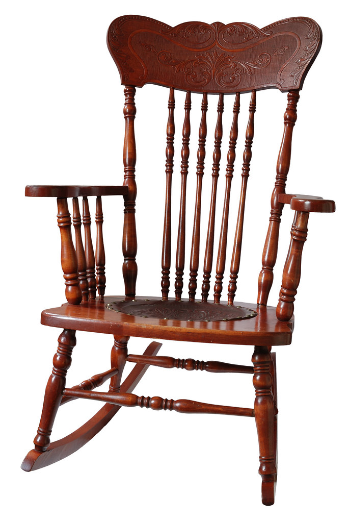 antique wooden rocking chair antique wooden rocking chair flickr. Black Bedroom Furniture Sets. Home Design Ideas