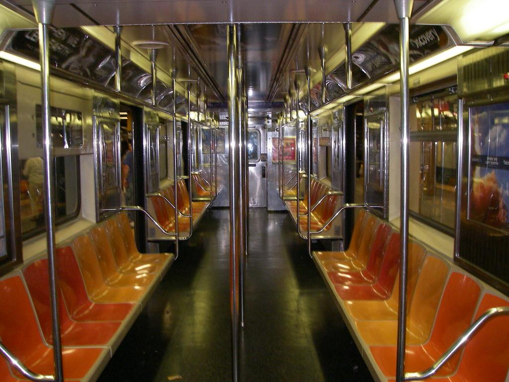 inside the subway car i am surprised its so empty flickr. Black Bedroom Furniture Sets. Home Design Ideas