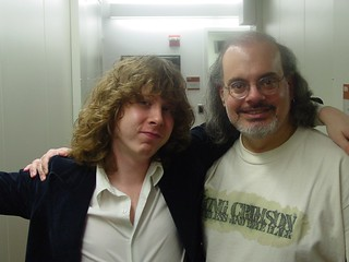 Ben Kweller and Darren DeVivo | by wfuv