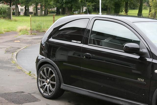 Vauxhall Corsa Windows Tinted