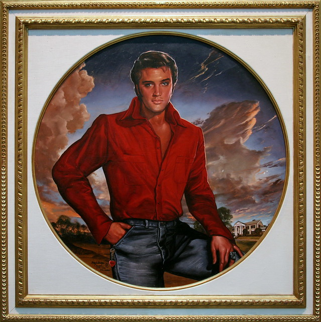 17 Best images about ELVIS ART...DRAWINGS on Pinterest ...  |1977 Elvis Painting