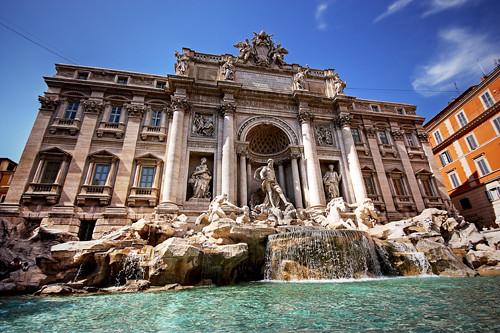 Fontana Di Trevi Roma Italia Alfie Ianni Flickr