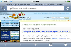 Rosh Hashanah 5769 Search Engine Roundtable | by rustybrick