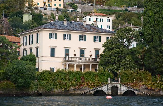 Lake Como Villa Oleandra George Clooney Estate Flickr
