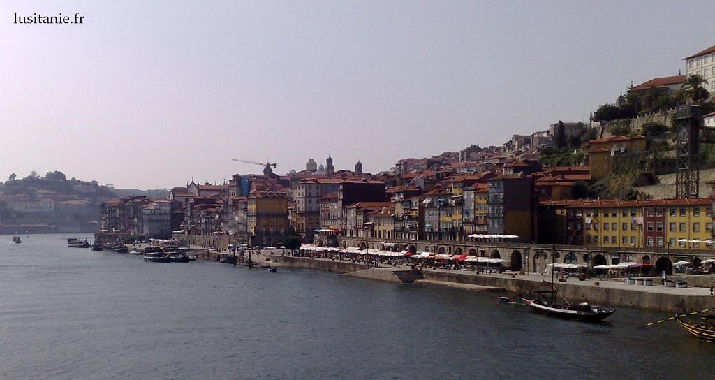 Vue générale de la ville de Porto