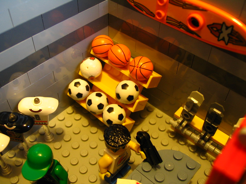 Sporting Goods The Lego Sports Boutique Carries A Wide