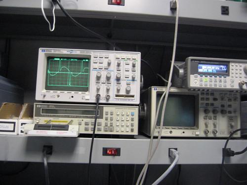 Function Generator And Oscilloscope : My favorite function generator oscilloscope setup in