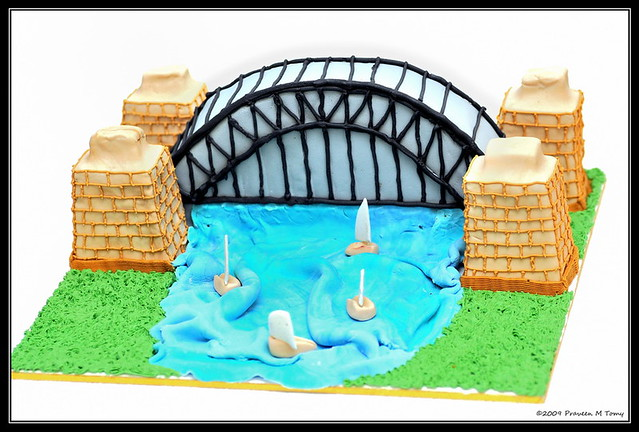 Harbour Bridge Cake Decoration By Rosemary Jose My Wife