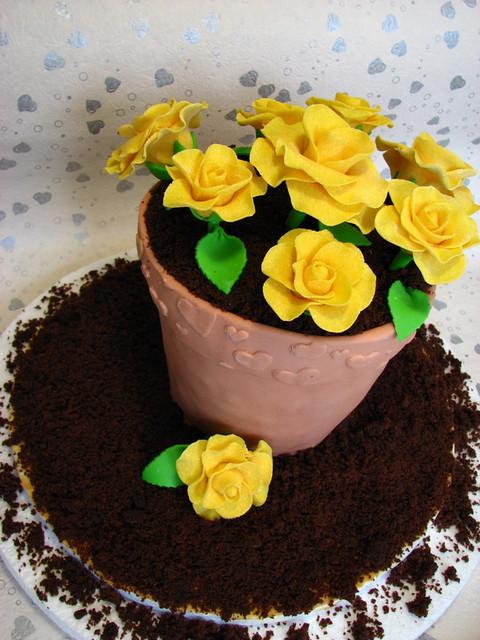 Flower Pot Cake Recipe Better Homes And Gardens