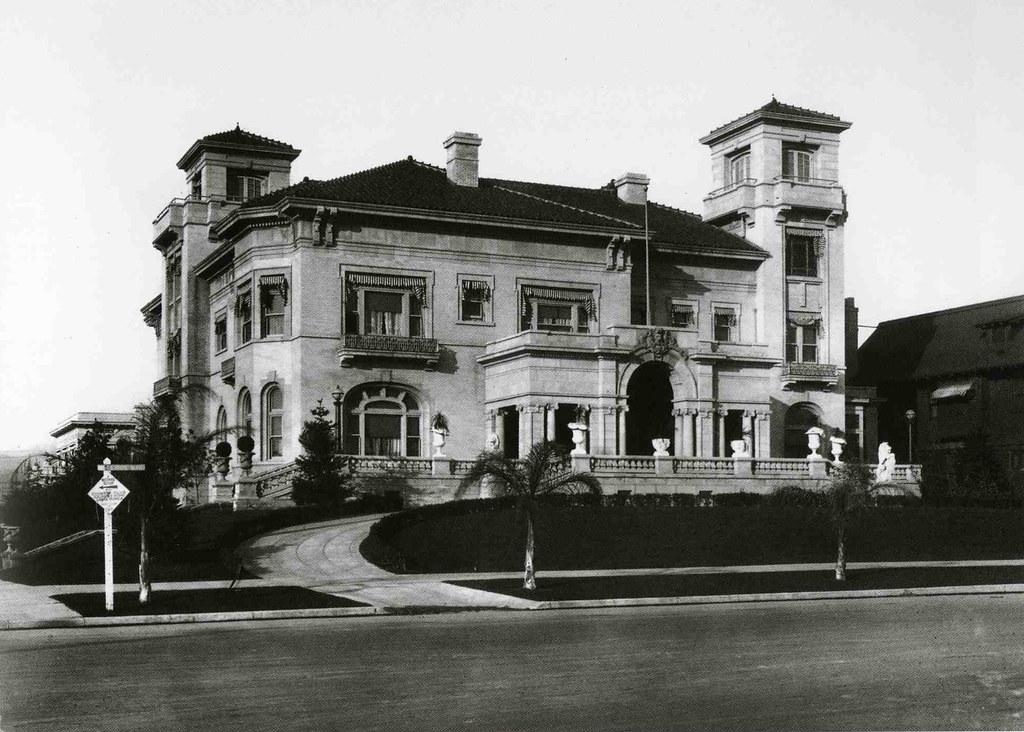 Hancock Mansion John C Austin Designed Quot Villa Madama
