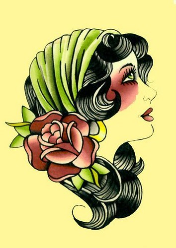 gypsy girl tattoo flash   My makeup inspiration for today ...
