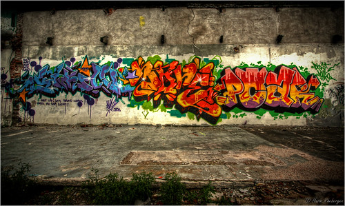 Graffiti @ Reesink (HDR) | by Harm Rhebergen