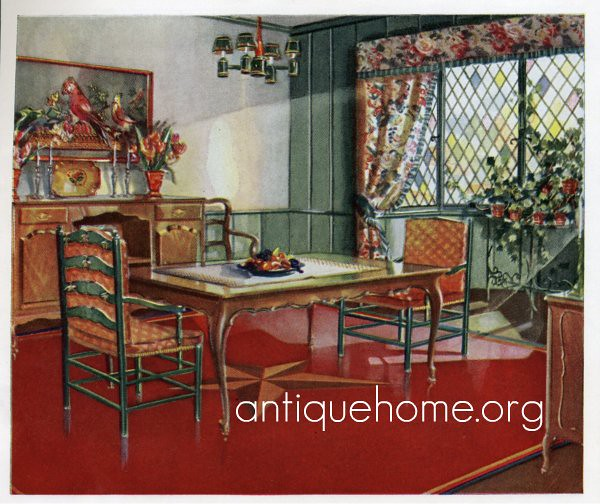 1930 dining room 1930s dining room design with red as for 1930 bungalow interior design