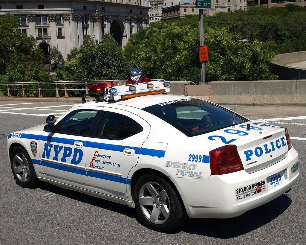 PCAR NYPD Highway Patrol Car Brooklyn Bridge New York Ci Flickr
