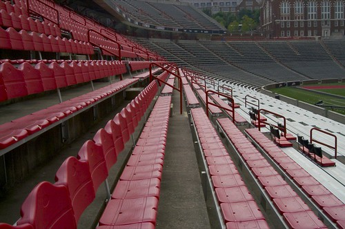 Empty UC Stadium....4 Days to Game Day. | by ellievanhoutte